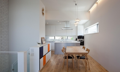 藤沢の家/Na邸 (ダイニングとキッチン)