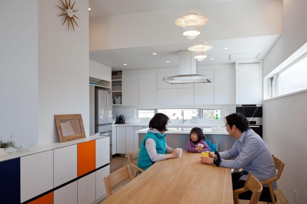 藤沢の家/Na邸 (2階ダイニング)
