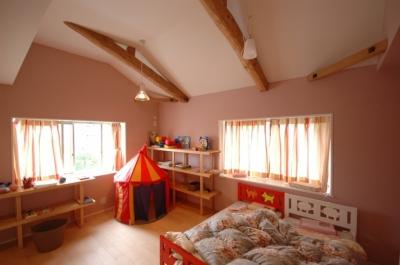 田園調布の家 (子供部屋)