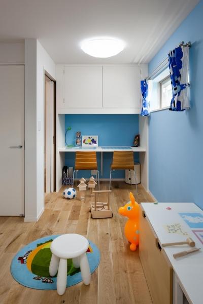 1階子供室 (藤沢の家/Na邸)