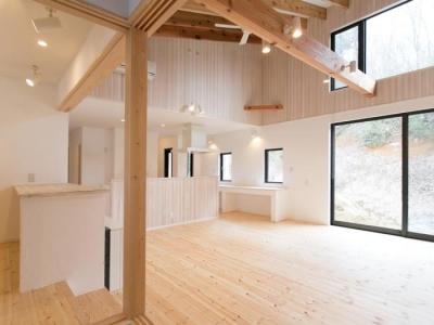IZUMI HOUSE (光あふれるリビングダイニング)