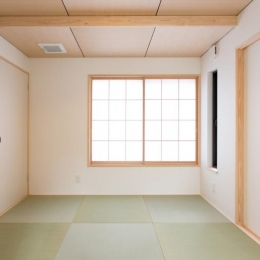 IZUMI HOUSE (素朴な雰囲気の小粋な和室)