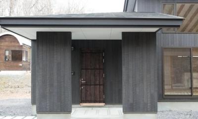 玄関スペース(外部)2|IZUMI HOUSE