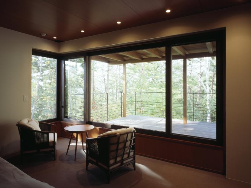 建築家:津野恵美子「富士山麓の家」
