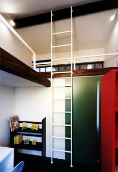子供室(撮影:玉森潤一) (気まずい家)