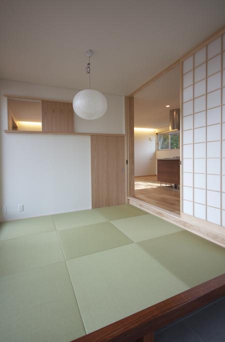 ぶどう棚の家の部屋 和室(反対側)