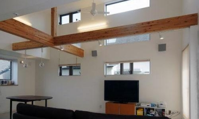 33坪・2階建てプラスRC造地下6坪+屋上