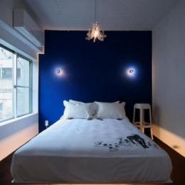 ラグジュアリーな寝室