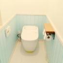 フレンチカラーなトイレ