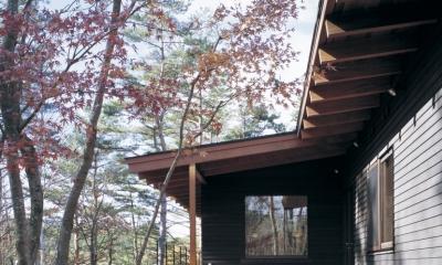 富士山麓の家