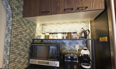 港区のSOHO (キッチン)