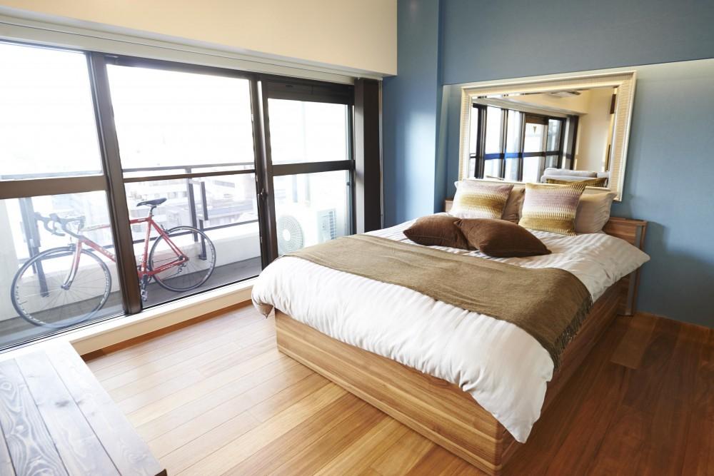 港区のSOHO (ベッドルーム)