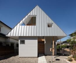 house AA (個性溢れる外観1(撮影:KAI NAKAMURA))