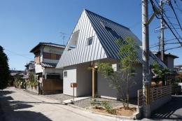 house AA (個性溢れる外観2(撮影:KAI NAKAMURA))