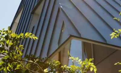 house AA (家全体を覆うような大屋根(撮影:KAI NAKAMURA))