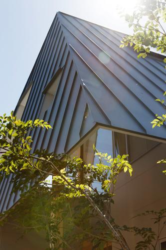 house AAの部屋 家全体を覆うような大屋根(撮影:KAI NAKAMURA)