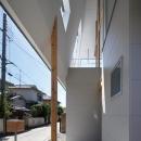 玄関-軒下(撮影:KAI NAKAMURA)