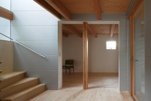 house AAの部屋 1階の個室(撮影:KAI NAKAMURA)