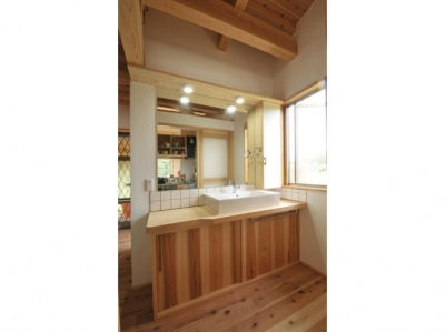 洗面所 (雉やまの家)
