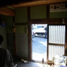 玄関-Before (Wa邸)