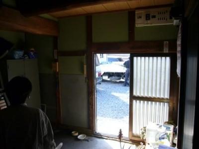 Wa邸 (玄関-Before)