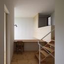 読書する家の写真 開放感のあるスタディスペース(撮影:上田宏)
