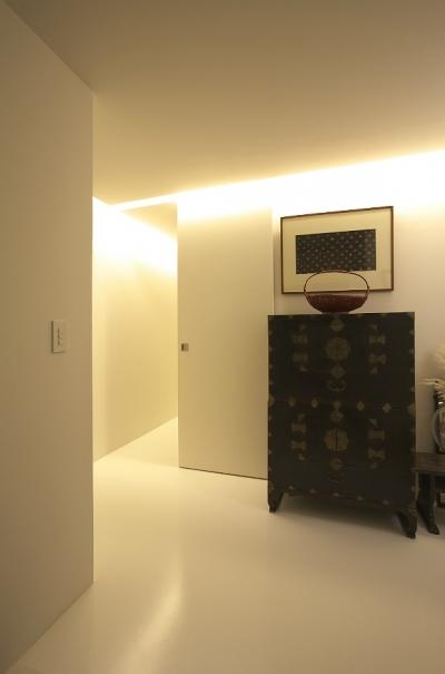 m&n house (玄関)