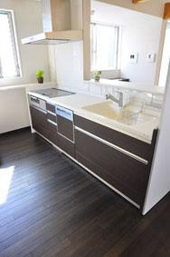 洗足の家の部屋 キッチン