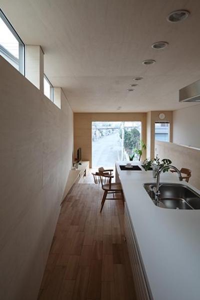 キッチン (手稲の家)