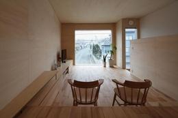 手稲の家 (リビング)