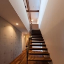 階段(撮影:車田写真事務所)