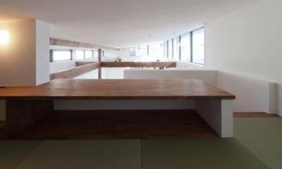 畳スペース(撮影:車田写真事務所)|東区 アオダモの家