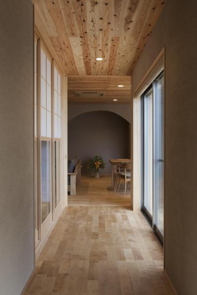 廊下 (あっさり和風の家)