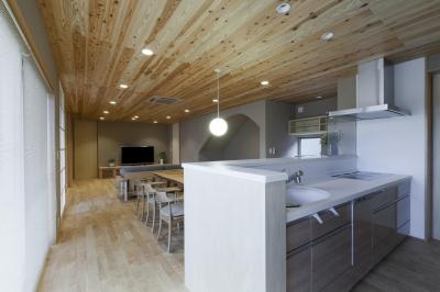 キッチン (あっさり和風の家)