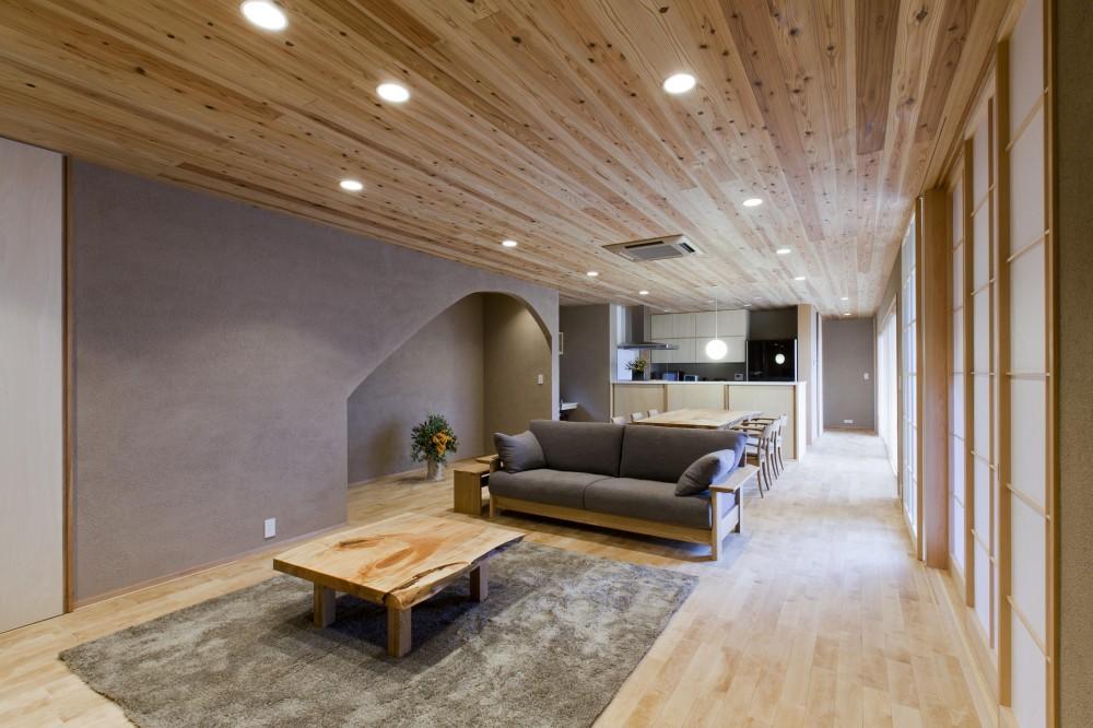 建築家:宝角陽輔「あっさり和風の家」