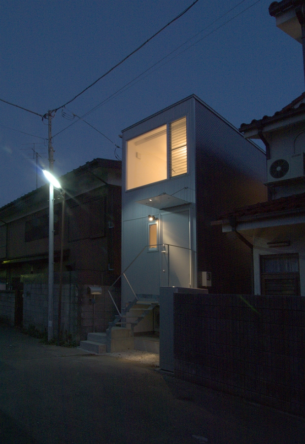 house 丁の部屋 夜景