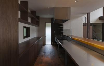 キッチン (プライベートヴィラ Y's Villa)