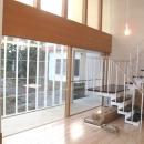坪原木工【オーダー建具・家具】の住宅事例「米松材 大型の木製サッシ」