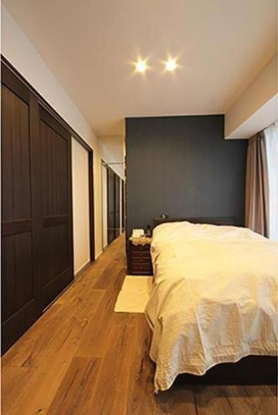 寝室 (渋谷区  ヴィンテージ感溢れるデザインと快適性の両立)
