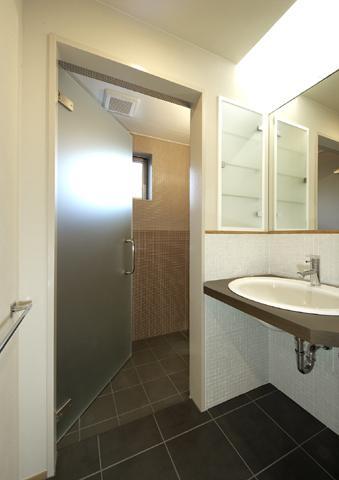 浜寺公園の家の写真 洗面スペース1