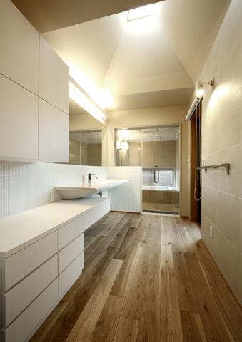 浜寺公園の家の写真 洗面スペース2
