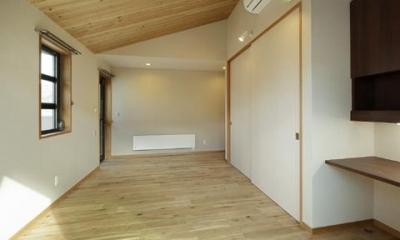 ベッドルーム1|浜寺公園の家