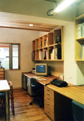 朝日町のSOHOの部屋 事務所