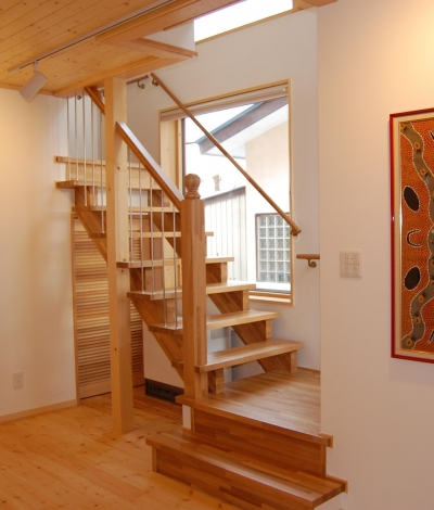 ETG邸 (階段)
