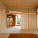 和室8帖から玄関を眺める(撮影:幸田青滋)