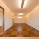 2階リビング(撮影:幸田青滋)