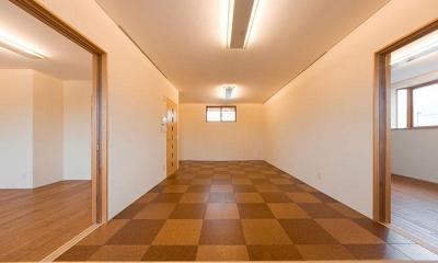 2階リビング(撮影:幸田青滋) 花游雲月亭(大谷邸)