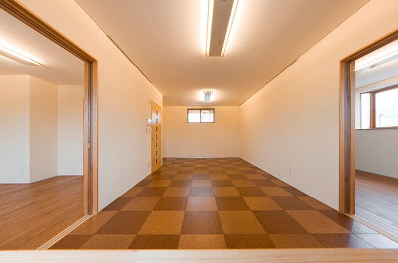 花游雲月亭(大谷邸)の写真 2階リビング(撮影:幸田青滋)