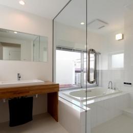 東長町の家 (浴室)