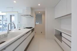 東長町の家 (キッチン)